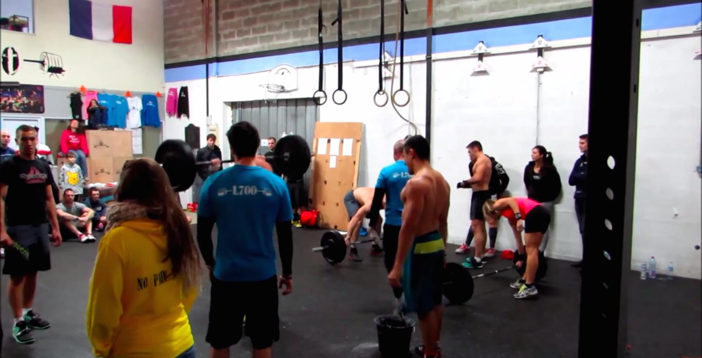 Inauguration de la nouvelle box CrossFit L700