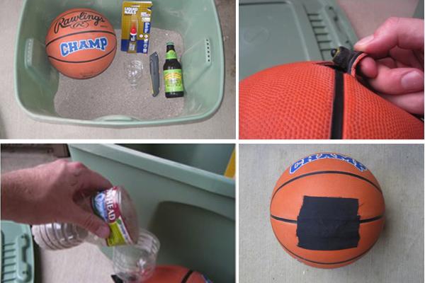 Un Medicine Ball fait maison pour le Crossfit