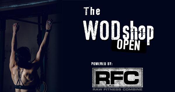 Première compétition en ligne du site WODshop.com