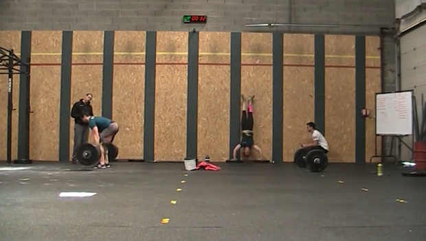 Performances de nos Français au French Throwdown 2015 Wod 2