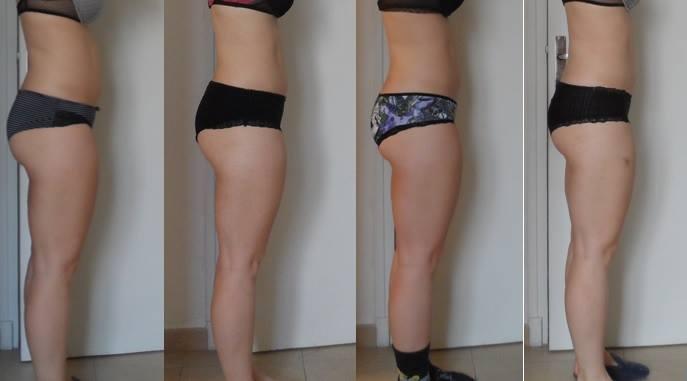Avant/Après: Johanna de CrossFit Hostilius
