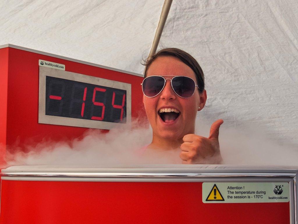 Les bénéfices de la Cryothérapie