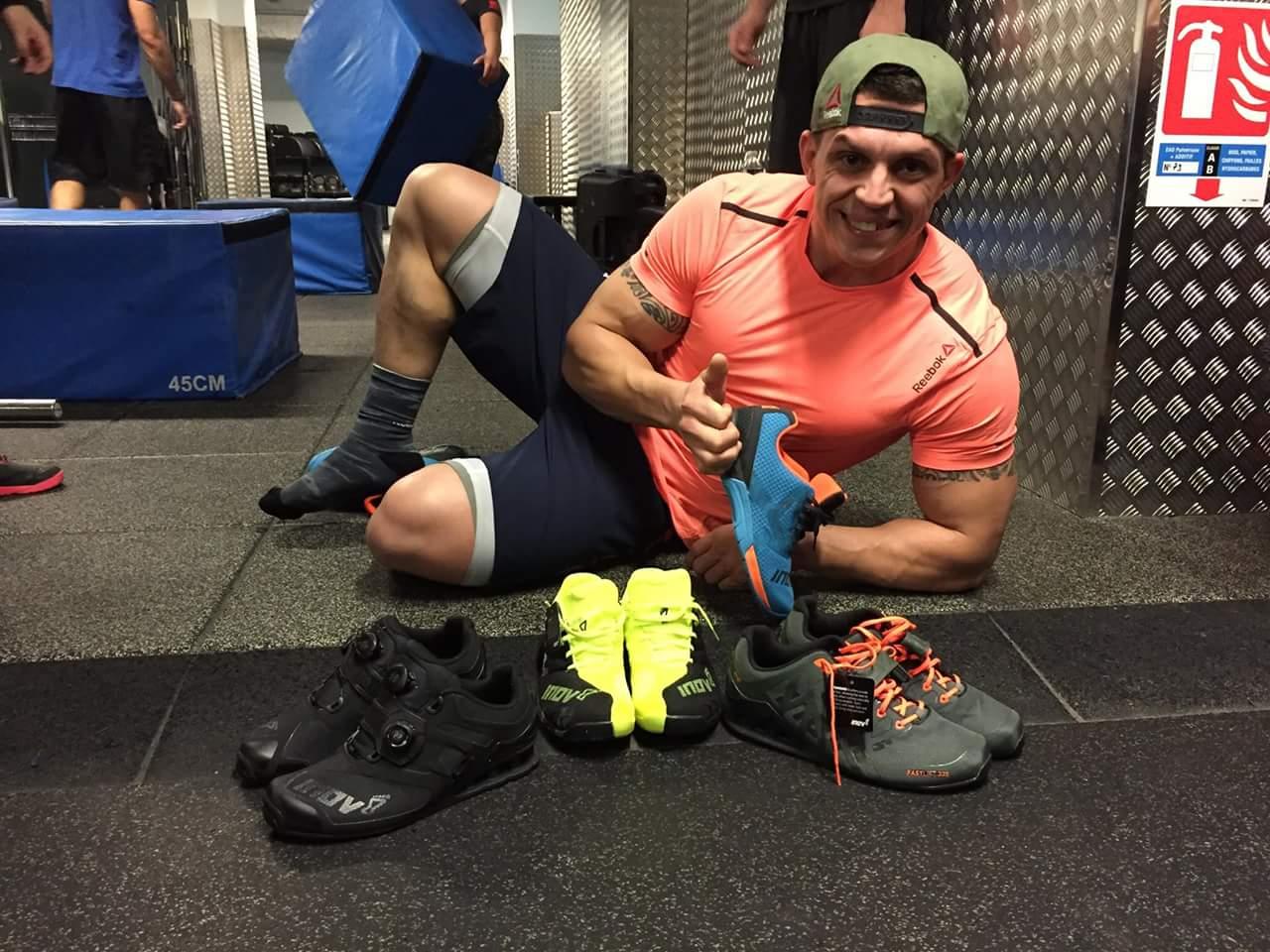 Le retour d'Alexandre Jolivet sur les chaussures Inov-8 F-Lite 235