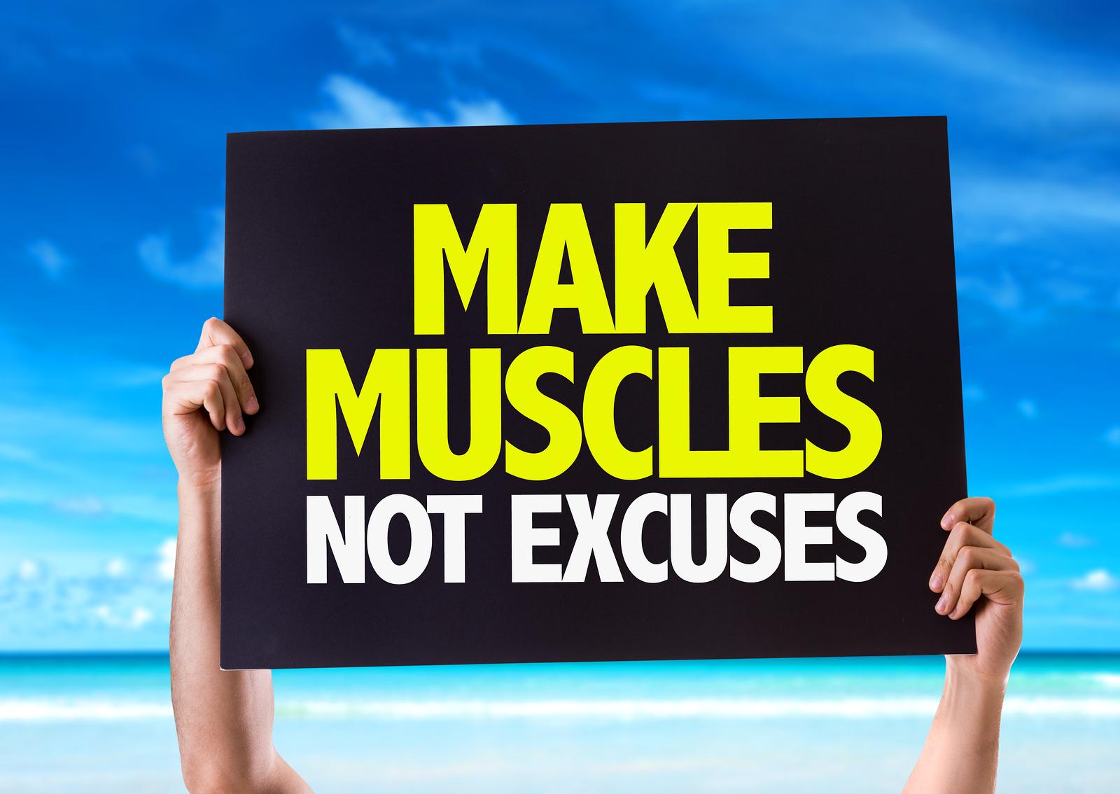 Ne cherchez plus d'excuses !