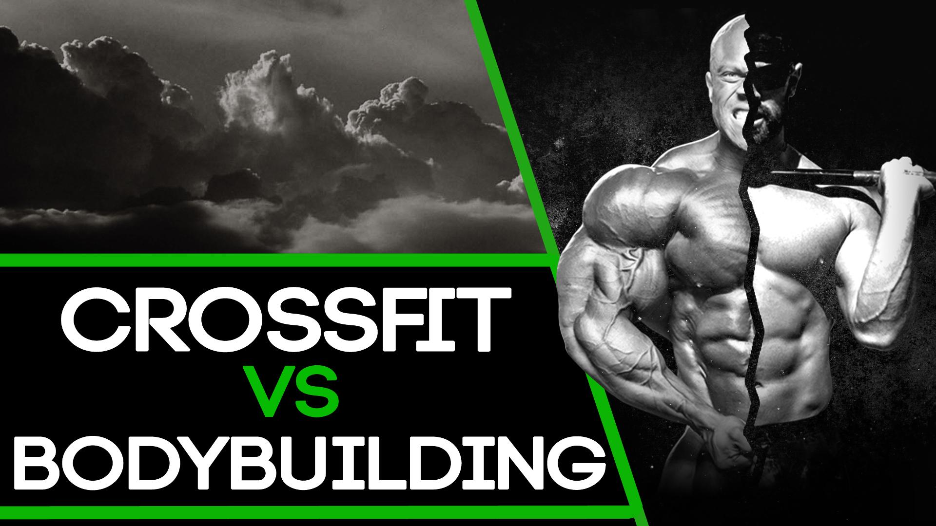 5 différences entre le CrossFit et le Body-building !