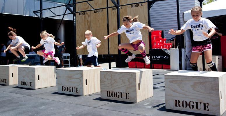 9 raisons pour lesquelles vos enfants devraient faire du CrossFit !