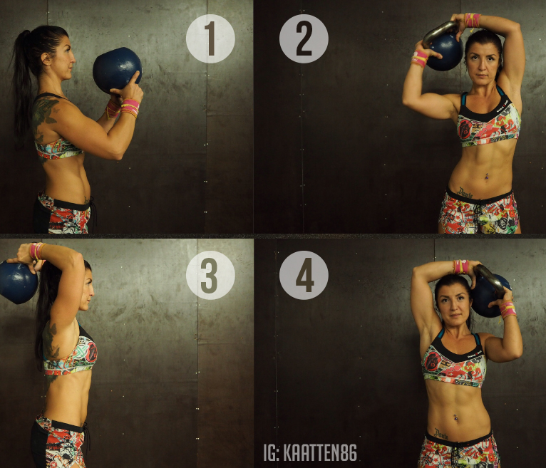 3 exercices pour bien s'échauffer avec des Kettlebells !