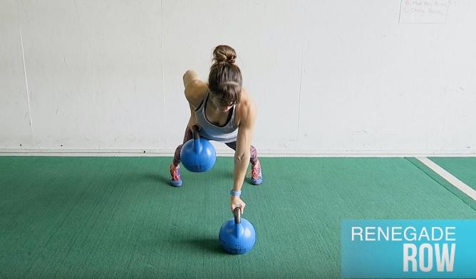 19 exercices de renforcement avec une kettlebell !