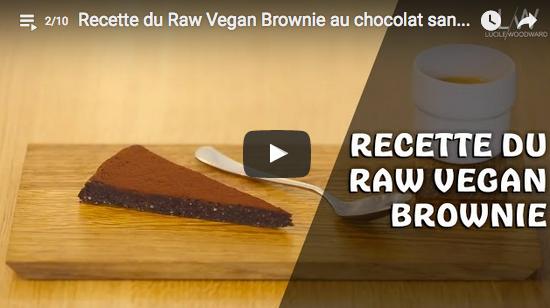 La recette du brownie vegan avec Lucile Woodward