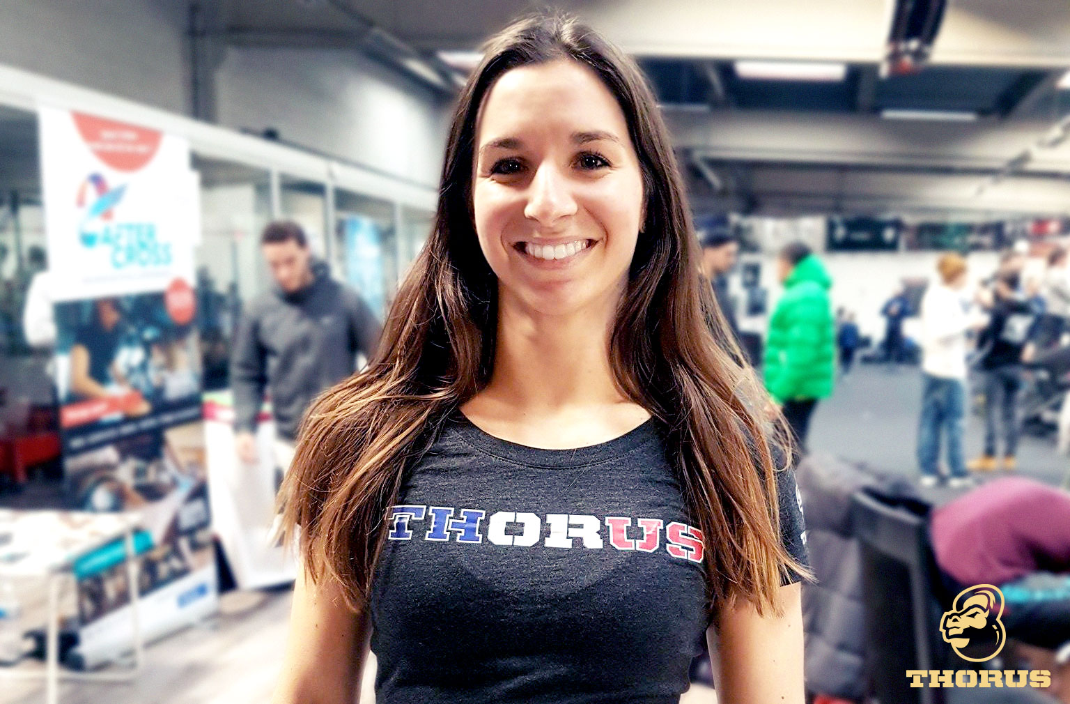 ELSA LICATA : L'égérie CrossFit de THORUS et Old Gym Clothing