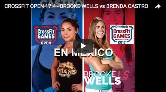WOD 17.4 des Open : Brooke Wells – Brenda Castro, le duel à Mexico