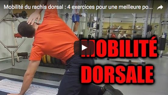 Mobilité du rachis dorsal : 4 exercices pour une meilleure posture