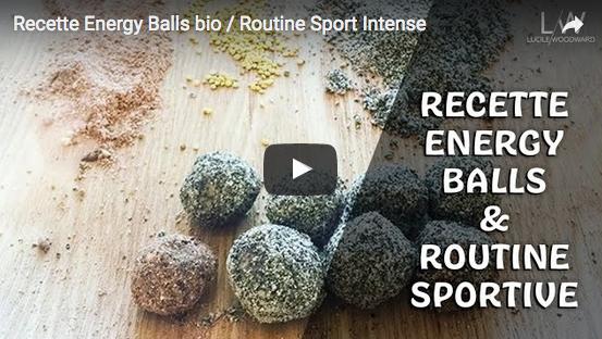 Recette : cuisiner des Energy Balls bio avec Lucile Woodward