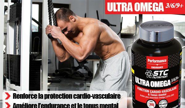 Testez l'Ultra Omega 3/6/9+ par STC Nutrition® !