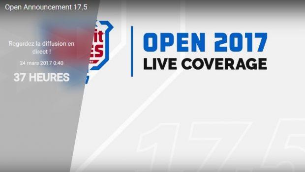 Direct Live ! Regardez l'annonce des CrossFit Open 17.5 !