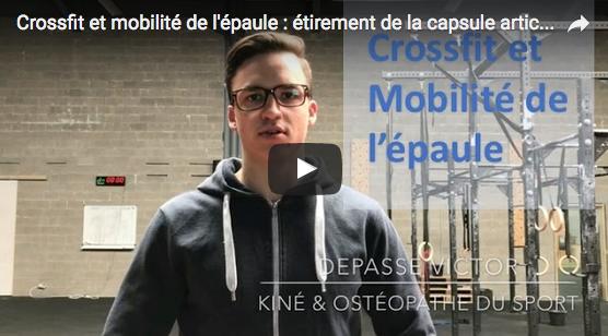 CrossFit et mobilité de l'épaule : étirement de la capsule articulaire