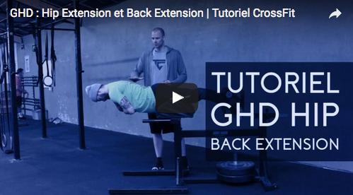 Tuto vidéo : GHD – Hip Extension et Back Extension avec Jack's Team