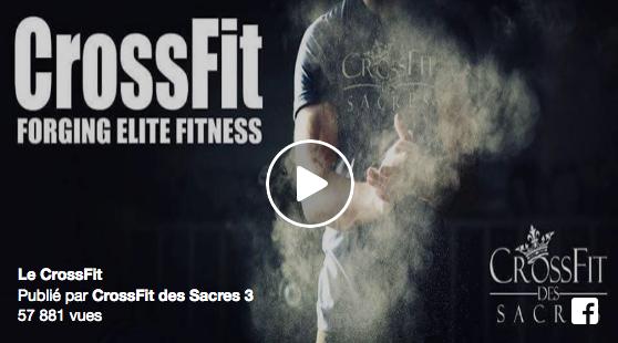 C'est quoi le CrossFit ? La box CrossFit des Sacres 3 répond avec une super vidéo