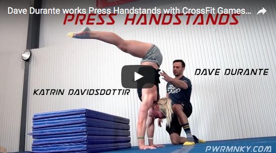 Katrin Davidsdottir s'entraîne en gym avec l'Olympien Dave Durante… et elle assure !