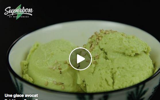 Recette de cuisine : Préparez votre propre glace à l'avocat !!!!