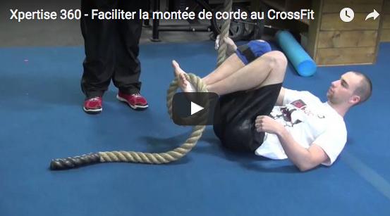 Faciliter le grimper de corde en CrossFit, avec Xpertise 360
