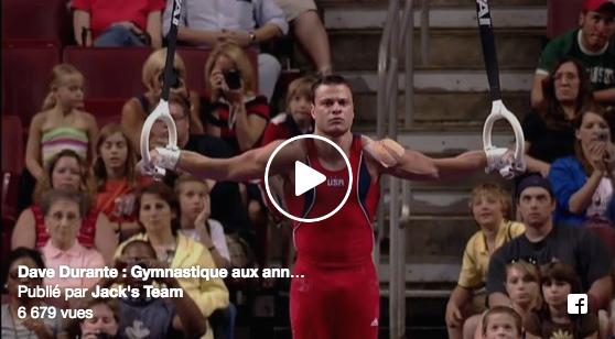 Dave Durante aux anneaux : le coach gymnastique de référence en CrossFit est une machine