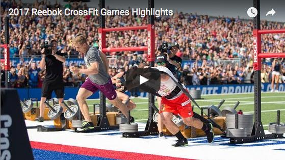Vidéo : Les meilleurs moments des CrossFit Games 2017