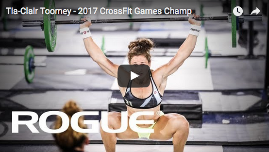 Zoom sur Tia-Clair Toomey, Fittest Woman on Earth 2017