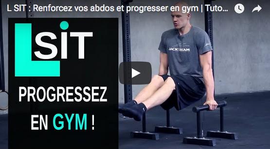 L-SIT : Renforcez vos abdos et progressez en gym avec Jack's Team