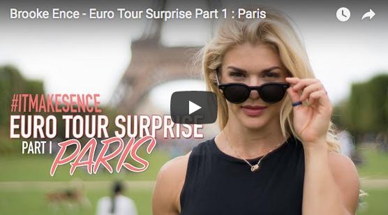 Brooke Ence visite Paris et s'arrête à Reebok CrossFit Louvre