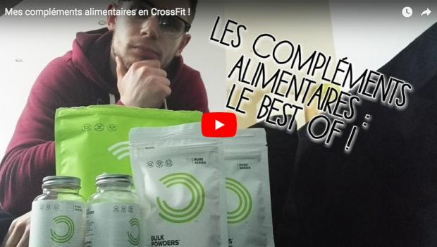 Best of des compléments alimentaires consommés par Alex, d'UCP Muscu