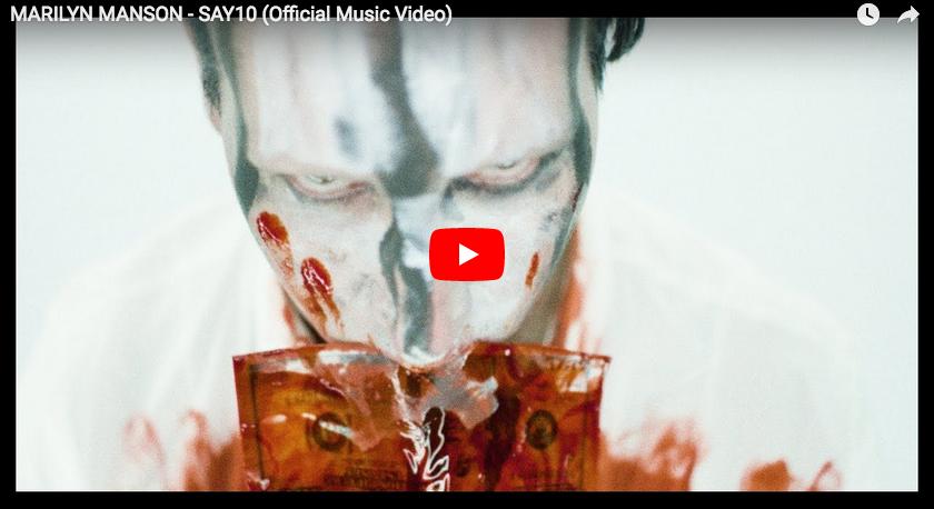 WODEZ en musique : Marilyn Manson – SAY10 (feat Johnny Depp)