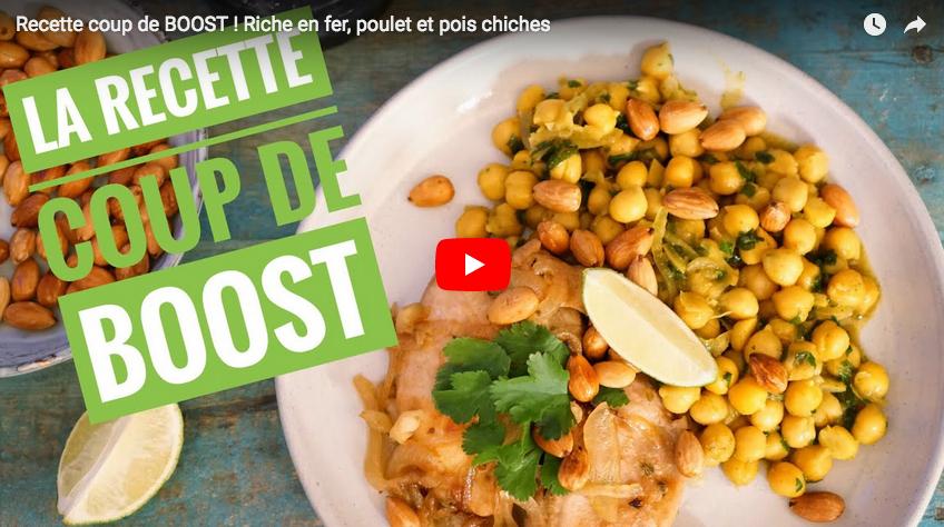 Recette coup de boost : une repas riche en fer avec Hervé cuisine