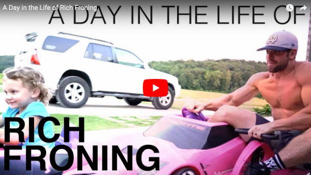 Un jour dans la vie de Rich Froning, la légende du CrossFit