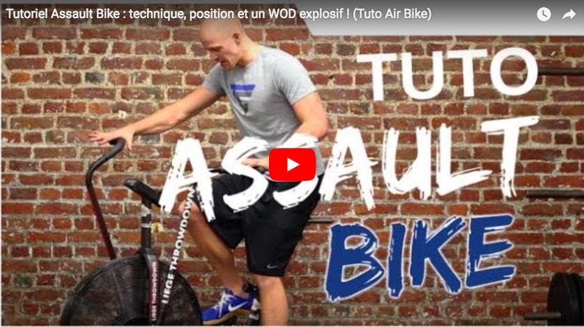 Tutoriel Assault Bike : technique, position et WOD explosif avec Jack's Team