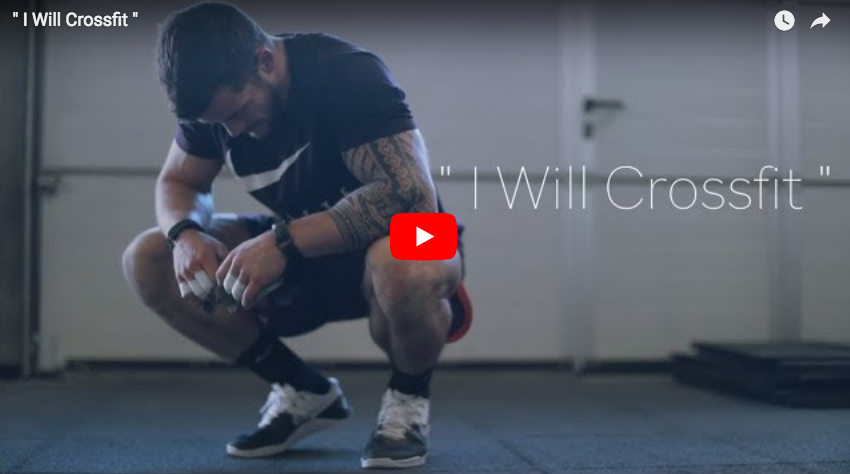«I WILL CROSSFIT» : Willy Georges va vous essouffler