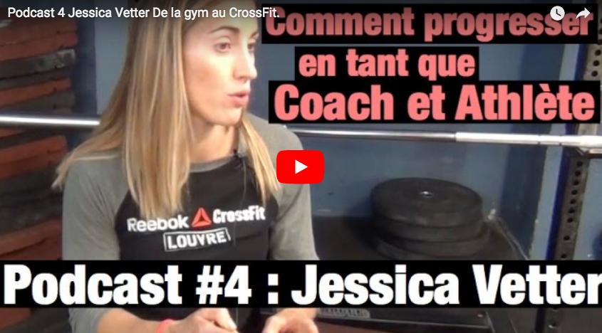 Podcast : L'Atelier Fit rencontre Jessica Vetter