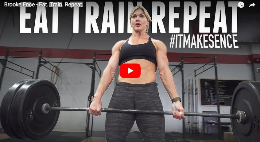 Eat-Train-Repeat : Brooke Ence en mode warrior pour attaquer la saison 2018