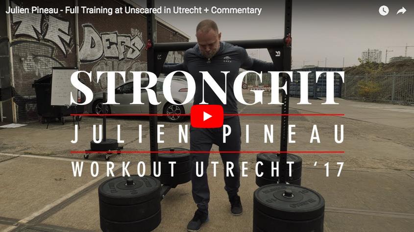 StrongFit : Training Session complète de Julien Pineau – avec commentaires