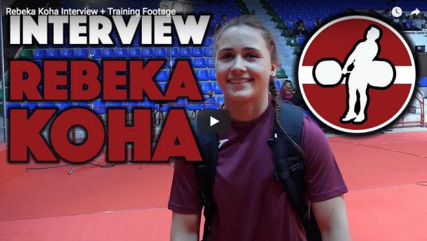 Interview : l'haltérophile Rebeka Koha raconte son parcours au plus haut niveau