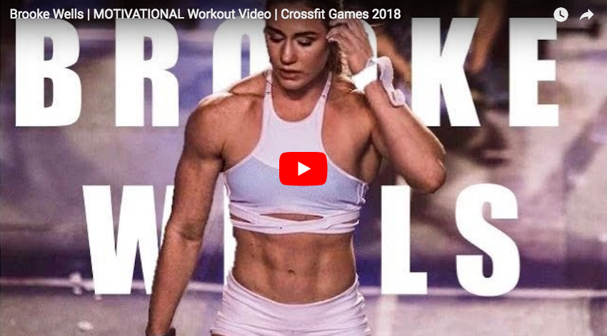 CrossFit Motivation : Brooke Wells en action