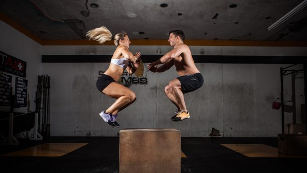 10 workouts pour les couples de CrossFitters