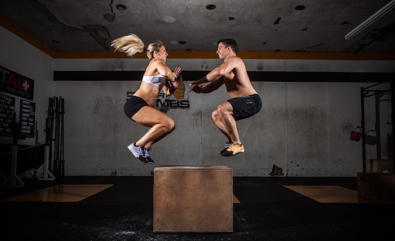 10 workouts pour les couples de CrossFitters