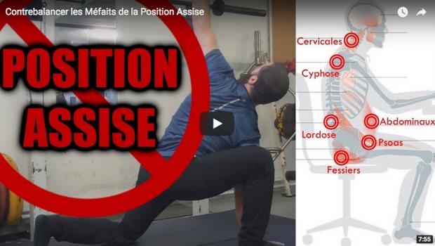 Contrebalancer les Méfaits de la Position Assise – par Olymp'Fit