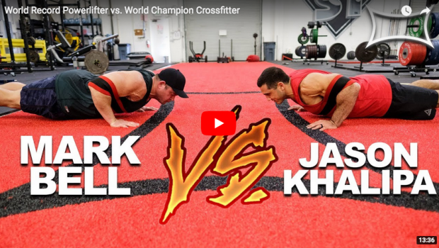 Powerlifter vs CrossFitter : Quand Jason Khalipa s'entraîne avec Mark Bell