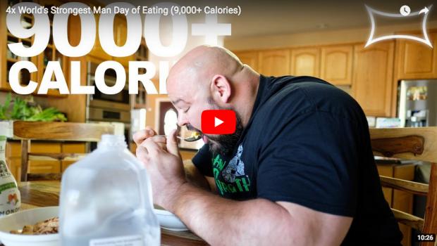 Strongman Style : Une journée cuisine et alimentation avec Brian Shaw