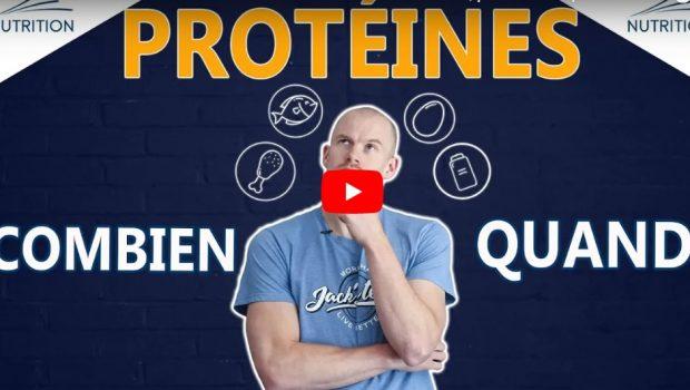 Comment bien répartir son apport en protéines sur une journée ?