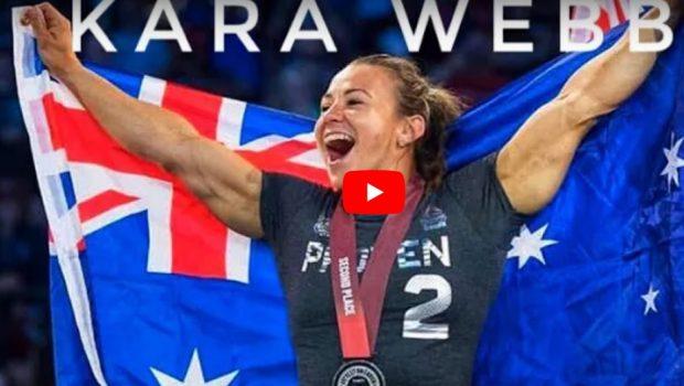 Kara Webb : une force de la nature !