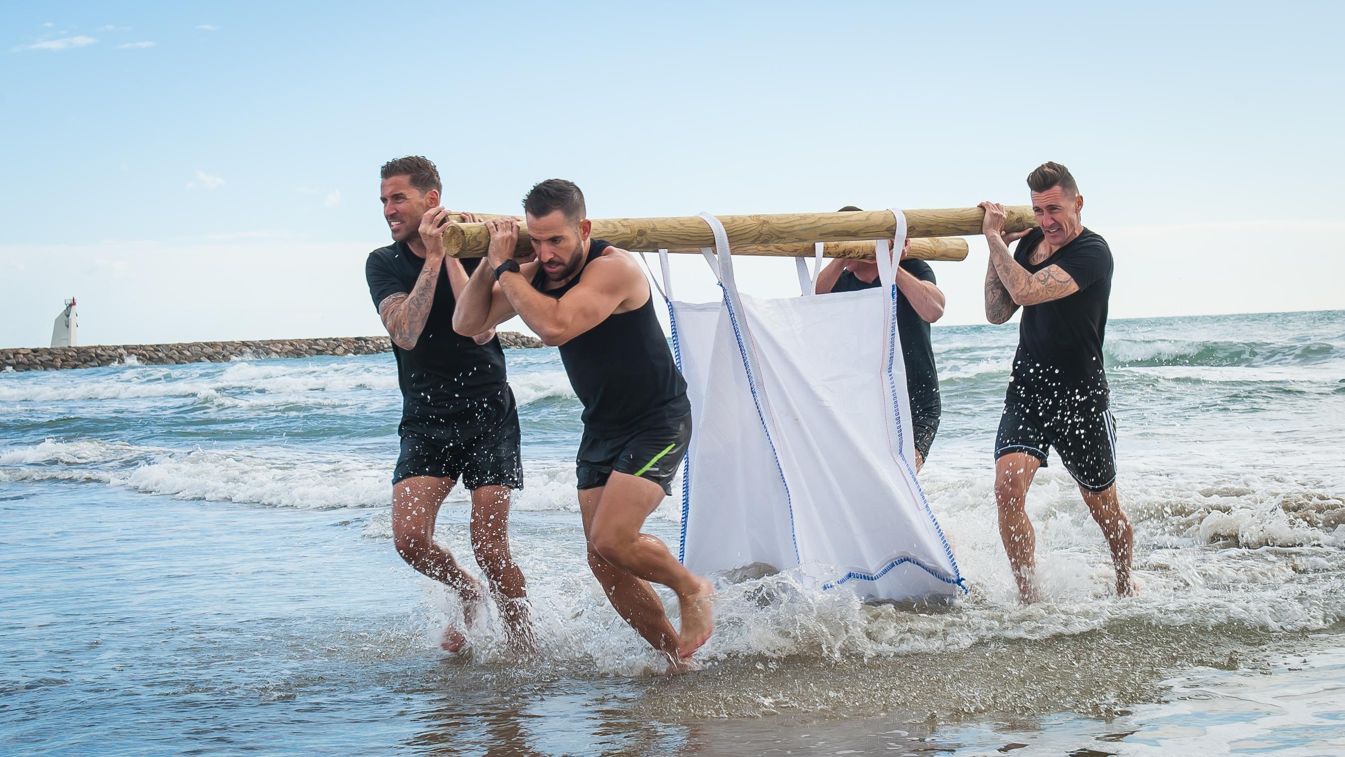 BAREFiiT, le challenge sportif pieds nus, en équipe et en musique!