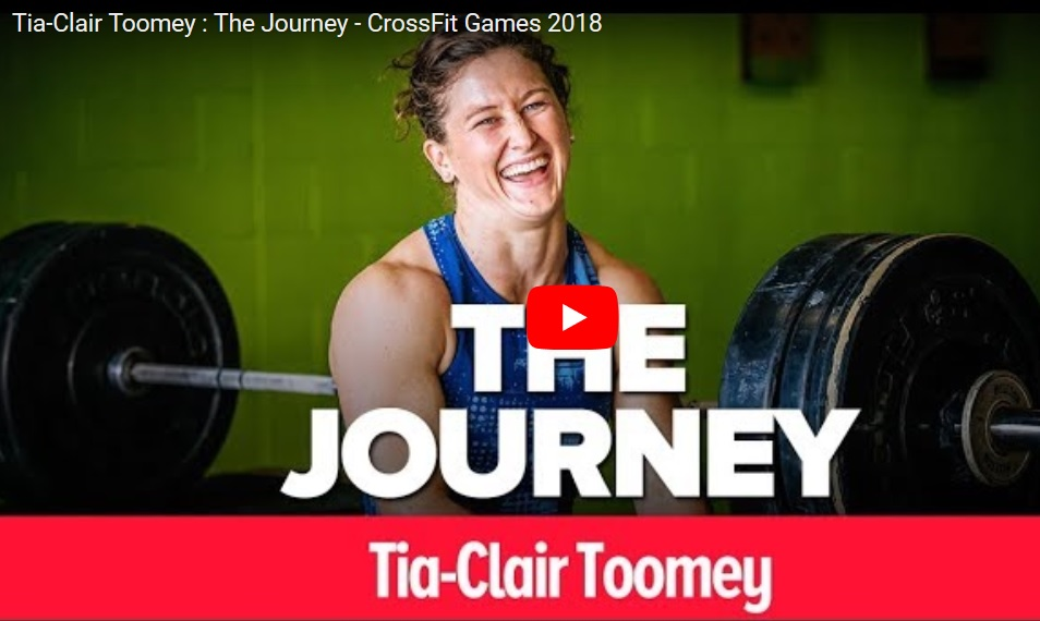 Tia-Clair Toomey : The Journey – CrossFit Games 2018